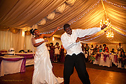 Makeysha & Jurome's wedding photographs at All Saints Church and the Goosedale Conference Centre, Nottingham.