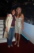 Beeban Kidron and Tamzin Outhwaite. Glamour Women Of The Year Awards 2005, Berkeley Square, London.  June 7 2005. ONE TIME USE ONLY - DO NOT ARCHIVE  © Copyright Photograph by Dafydd Jones 66 Stockwell Park Rd. London SW9 0DA Tel 020 7733 0108 www.dafjones.com