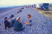 Steart Beach, The Mother Festival, Somerset, 1995