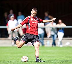 31.07.2010, Stadion, Kaprun, AUT, 1. FC Nürnberg Training, im Bild Marek Mintal (1. FC Nürnberg, # 11) beim Schuss, EXPA Pictures © 2010, PhotoCredit: EXPA/ J. Feichter / SPORTIDA PHOTO AGENCY