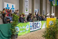 Public<br /> Klasse Licht<br /> Nationaal Indoor Kampioenschap Pony's LRV <br /> Oud Heverlee 2019<br /> © Hippo Foto - Dirk Caremans<br /> 09/03/2019