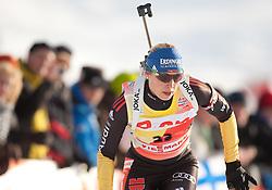 09.12.2011, Biathlonzentrum, Hochfilzen, AUT, E.ON IBU Weltcup, 2. Biathlon, Damen 7,5km Sprint, im Bild Magdalena Neuner (GER) // Magdalena Neuner of Germany during women 7.5km Sprint at E.ON IBU Worldcup 2th Biathlon, Hochfilzen, Austria on 2011/12/09. EXPA Pictures © 2011, PhotoCredit: EXPA/ Johann Groder