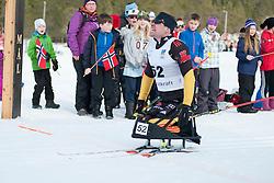 HAUCH Max, GER, Short Distance Biathlon, 2015 IPC Nordic and Biathlon World Cup Finals, Surnadal, Norway