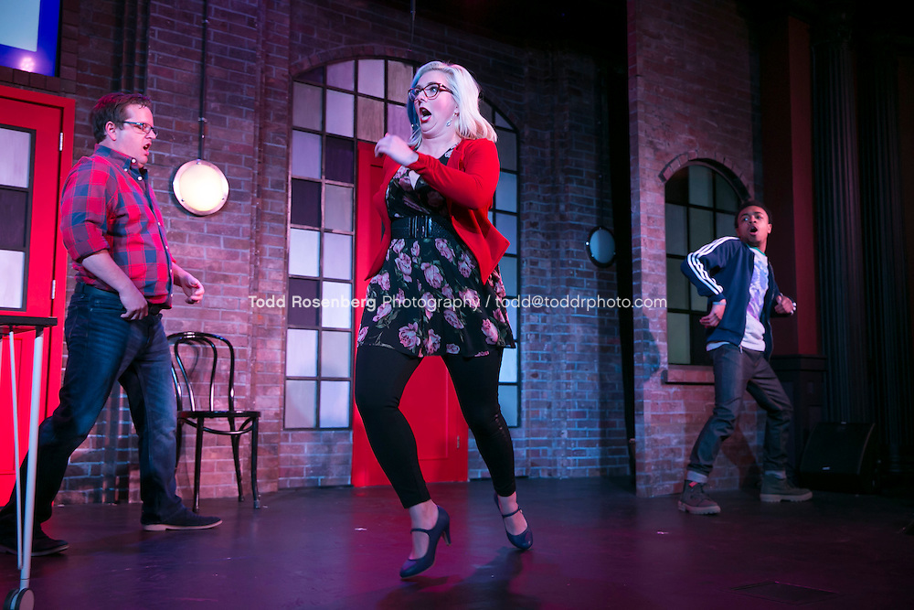 2/18/16 9:36:42 PM -- The Second City Presents<br /> #DateMe an OK Cupid Experiment<br /> <br /> &copy; Todd Rosenberg Photography 2016