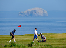 Golf resumes in Scotland, Dunbar 29 May 2020