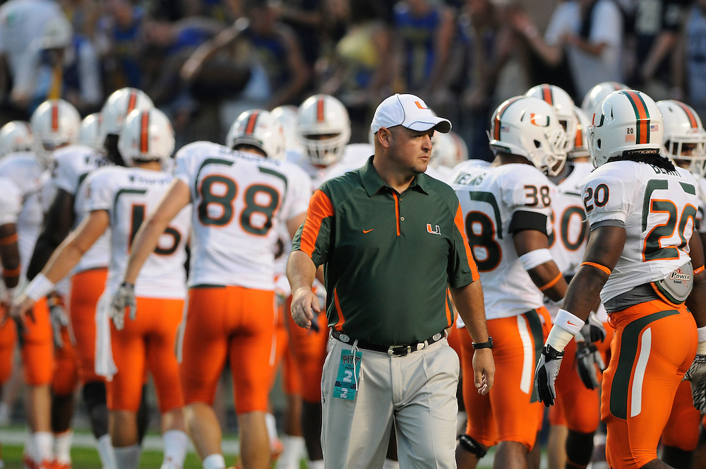 2010 Miami Hurricanes Football @ Pittsburgh
