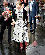 18-5-2015 - UTRECHT - Queen Máxima is Monday May 18, 2015 attended the inaugural lecture of Professor Javier A. Couso in the Academy Building of the University of Utrecht. Koningin Máxima is maandagmiddag 18 mei 2015 aanwezig bij de oratie van professor Javier A. Couso in het Academiegebouw van de Universiteit Utrecht.  COPYRIGHT ROBIN UTRECHT