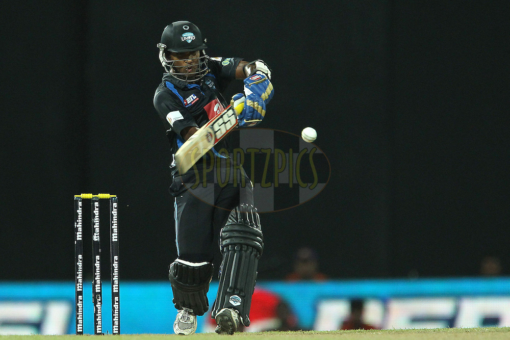 Dinesh Chandimal during match 20 of the Sri Lankan Premier League between Ruhuna Royals and Wayamba United held at the Premadasa Stadium in Colombo, Sri Lanka on the 26th August 2012. .Photo by Ron Gaunt/SPORTZPICS/SLPL