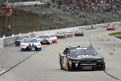 November 3, 2018 - Ft. Worth, Texas, United States of America - Alex Labbe (36) battles for position during the O'Reilly Auto Parts Challenge at Texas Motor Speedway in Ft. Worth, Texas. (Credit Image: © Justin R. Noe Asp Inc/ASP via ZUMA Wire)