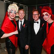 NLD/Amsterdam/20130601- Amsterdam diner 2013, Albert Verlinde en partner Onno hoes