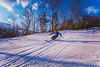 Skiing at Massanutten in the Shenandoah Vally.