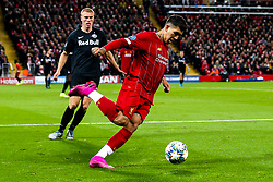 Roberto Firmino of Liverpool - Mandatory by-line: Robbie Stephenson/JMP - 02/10/2019 - FOOTBALL - Anfield - Liverpool, England - Liverpool v Red Bull Salzburg - UEFA Champions League Group Stage