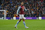 Henri Lansbury of Aston Villa during the Premier League match between Wolverhampton Wanderers and Aston Villa at Molineux, Wolverhampton, England on 10 November 2019.