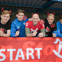 St Johnstone FC Supporting CHAS Devils Dash….14.10.16<br />
