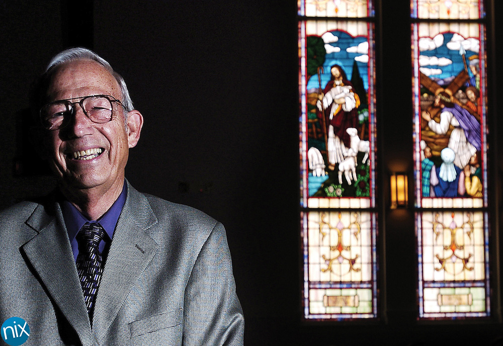 Rev. Darrell Coble, who has used laughter in his sermons during his almost 50 years of preaching, is stepping down in December after 35 years at the helm of Parkwood Baptist Church.