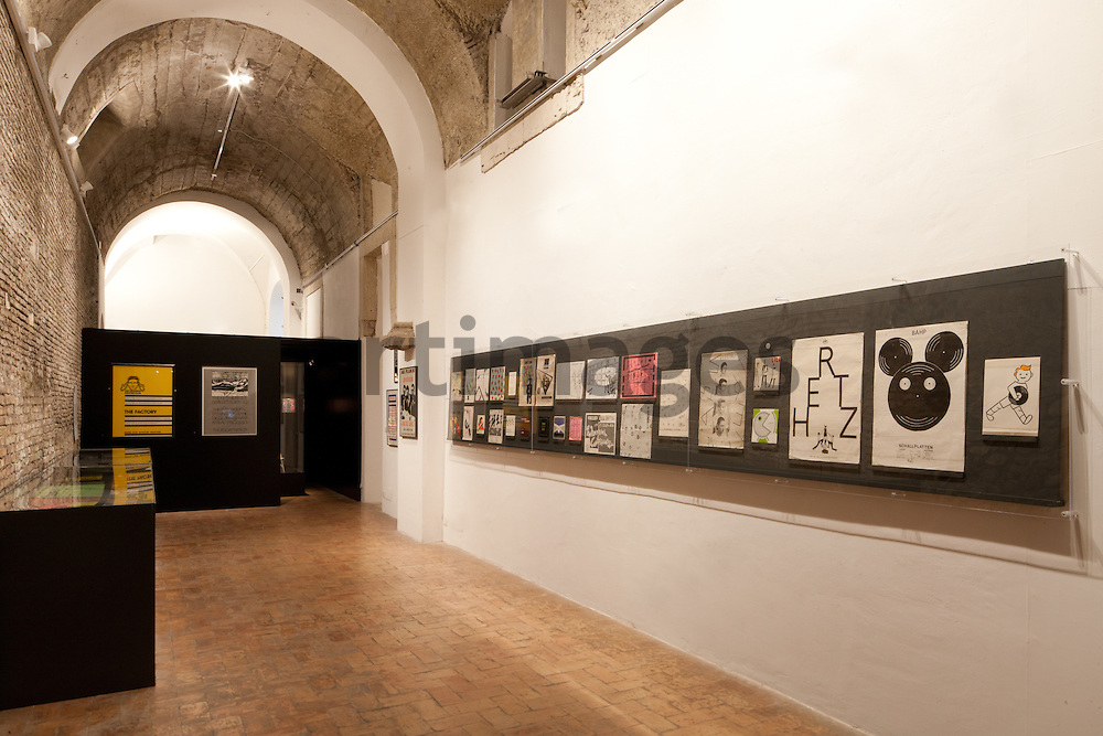 EUROPUNK exhibition at Villa Medici - Rome
