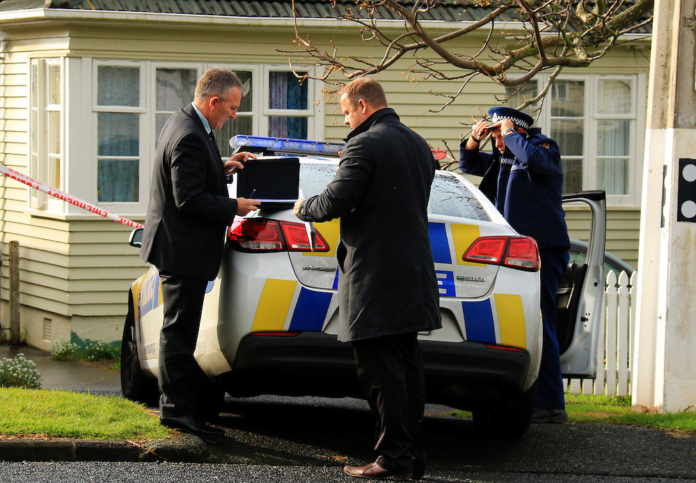 Police have started an investigation into the death of a child at a property in Moana Avenue, Onehunga, Auckland, New Zealand, Friday,  August 07, 2015. Credit:SNPA / Hayden Woodward