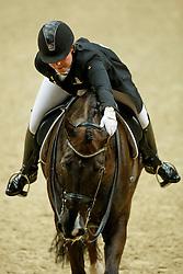 Kasprzak Anna, (DEN), Donnperignon<br /> Grand Prix<br /> Reem Acra FEI World Cup Dressage - Goteborg 2016<br /> © Hippo Foto - Dirk Caremans<br /> 25/03/16