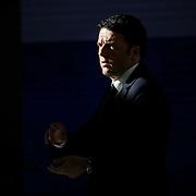 Il Presidente del Consiglio Matteo Renzi al primo Italian Digital Day, incontri e dibattiti dedicati all'innovazione digitale in Italia organizzato alla Reggia di Venaria Reale (TO) 21/11/2015