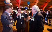 UTRECHT -  Frans Verhoeven (m) , A tribe called Golf, de kracht van de connectie. Nationaal Golf Congres van de NVG 2014 , Nederlandse Vereniging Golfbranche. COPYRIGHT KOEN SUYK