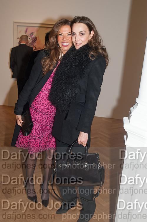 HEATHER KERZNER; CATHERINE BAILEY, Panta Rhei. An exhibition of work by Keith Tyson. The Pace Gallery. Burlington Gdns. 6 February 2013.