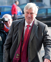 08/04/2013  Coroner Ciaran MacLoughlin arriving at Galway Coroner Court for the Inquest into the death of his wife Savita at Galway University Hospital. Picture:Andrew Downes..