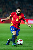 Spain's Dani Carvajal  during the match of European qualifying round between Spain and Macedonia at Nuevo Los Carmenes Stadium in Granada, Spain. November 12, 2016. (ALTERPHOTOS/Rodrigo Jimenez)