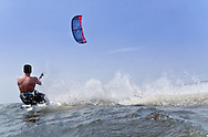 Kite Boarder in Action