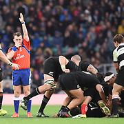 Londra 04/11/2017 Twickenham<br /> Barbarians vs Nuova Zelanda<br /> Nigel Owens