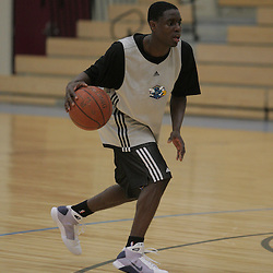 08 June 2009: UCLA guard, Darren Collison participates during a pre NBA draft workout for the New Orleans Hornets at the Alario Center in Westwego, Louisiana.