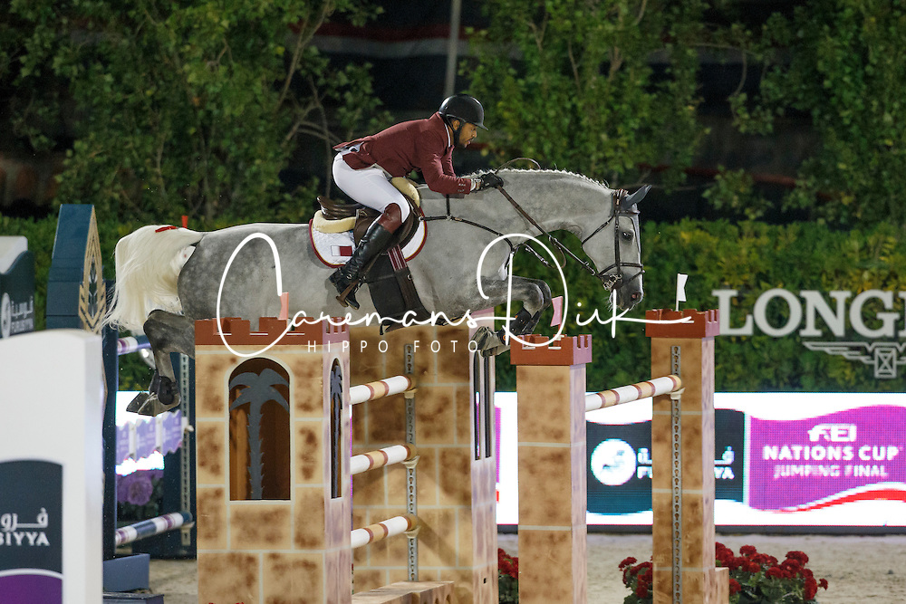 Mohammed Bassem Hassan, (QAT), California, FEI President<br /> Logines Challenge Cup<br /> Furusiyya FEI Nations Cup Jumping Final - Barcelona 2015<br /> &copy; Dirk Caremans<br /> 25/09/15
