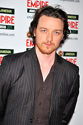 © under license to London News Pictures. 27/03/11. James Mcavoy attends the Jamesons Empire Film Awards , Sunday 27th March 2011 at the Grosvenor House Hotel, Park Lane, London. Photo credit should read ALAN ROXBOROUGH/LNP