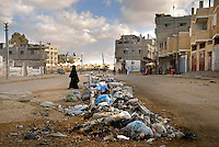 Gaza strip after the disengagement.