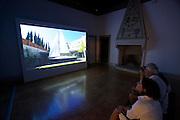 """12th Biennale of Architecture. Portugal at Universita di Ca' Foscari. """"No Place Like"""". Video by Joao Luis Carrilho da Graca."""