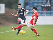 Dundee&rsquo;s Cammy Kerr and St Mirren&rsquo;s Lewis Morgan - Dundee v St Mirren in the William Hill Scottish Cup at Dens Park, Dundee. Photo: David Young<br /> <br />  - &copy; David Young - www.davidyoungphoto.co.uk - email: davidyoungphoto@gmail.com