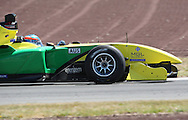 Team Australia and driver John Martin during  the A1 GP Official Practice for Rookies and Developing Nations, Taupo, New Zealand, Friday 23 January 2009. Photo: PHOTOSPORT/SPORTZPICS