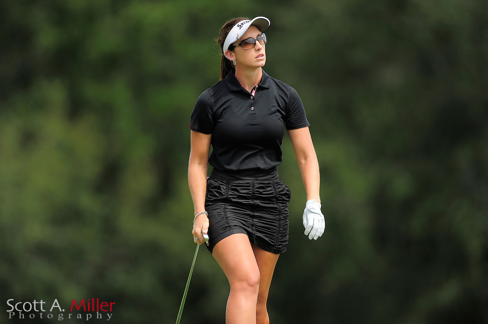 Courtney Massey during the final round of the Daytona Beach Invitational  at LPGA International on Sep 30, 2012 in Daytona Beach, Florida...©2012 Scott A. Miller