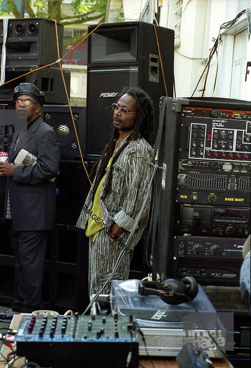 Sound System setup Notting Hill Carnival 2014