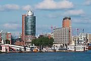Hamburger Hafen und Hafen City, Hamburg, Deutschland.|.Hamburg harbour and harbour city, Hamburg, Germany.