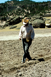 Mexico: Tarahumara tribe.Indians plant corn near Creel, Copper Canyon, Barranca del Cobre, Sierra Madre Occidental.Photo copyright Lee Foster, www.fostertravel.com. .Photo #: mxtara103, 510/549-2202, lee@fostertravel.com