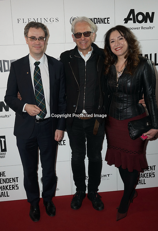 London,England,UK : Russian embassy cultural ambassador,Elliot Grove,Luba Balagova attend the Raindance Filmmakers Ball by London Flair Pr at Cafe De Paris  in London. Photo by See Li