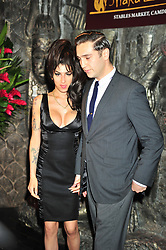 Aug. 4, 2010 - City/Town E.G Windsor, COUNTY e.g Berkshire, UK -  London, England. image cated 4 aug 2010 Amy Winehouse and Reg Prentiss attend the opening of Shaka Zulu in Camden town . Photo credit : ALAN ROXBOROUGH/LNP (Credit Image: © Alan Roxborough/Lnp/London News Pictures/ZUMAPRESS.com)