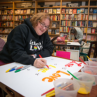 Sign Painting - Buffalo St Books 01 13 2017