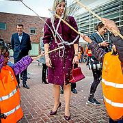 NLD//Amsterdam/20160422 - Opening Koningspelen 2016, Maxima en Willem-Alexander