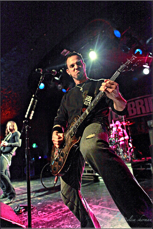 """Mark Tremonti  of Alter Bridge performs on January 1st, 2011 in support of CD """"AB III""""  at the Showbox Market in Seattle, Washington"""
