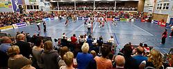 20150425 NED: Eredivisie VC Sneek - Eurosped, Sneek<br />Overview, Sneker Sporthal - Sneek<br />©2015-FotoHoogendoorn.nl / Pim Waslander