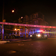 07/24/12 Wilmington Del: Wilmington police investigate a shooting late Tuesday evening at Adams and 9th Street  around 11:50pm...SAQUAN STIMPSON/Special to The News Journal
