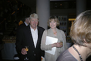 MR. AND MRS. STANLEY JOHNSON, Royal Festival Hall First Night Gala. Southbank Centre. London. 11 June 2007.  -DO NOT ARCHIVE-© Copyright Photograph by Dafydd Jones. 248 Clapham Rd. London SW9 0PZ. Tel 0207 820 0771. www.dafjones.com.