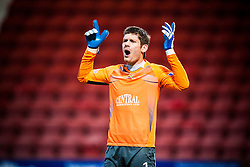 Falkirk's keeper Michael McGovern..Dunfermline 0 v 1 Falkirk, 26/12/2012..©Michael Schofield.