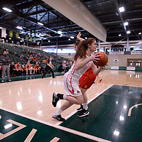 U Sports 2018 Women's National Basketball Championship consolation final on March  10 at the Centre for Kinesiology, Health and Sport Regina,Saskatchewan. Credit: Arthur Ward/Arthur Images